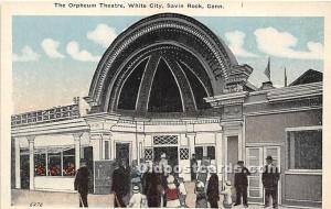 Savin Rock, Connecticut, CT, USA, USA Postcard The Orpheum Theatre, White Cit...