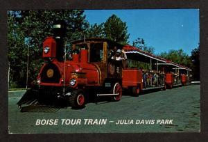 ID BOISE Tour Railroad Train Julia Davis Park IDAHO PC