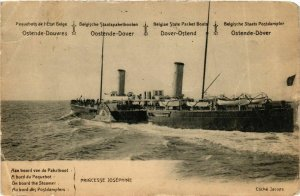 CPA Princesse Josephine - Paquebot - Ostende-Douvres SHIPS (911952)