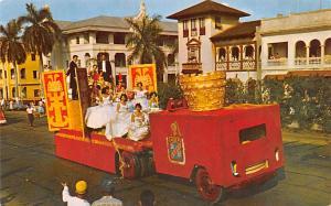 Panama Old Vintage Antique Post Card Carnaval en Panama Unused