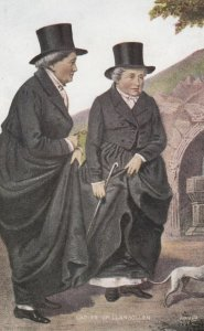 Ladies of LLANGOLLEN , Wales , UK , 00-10s