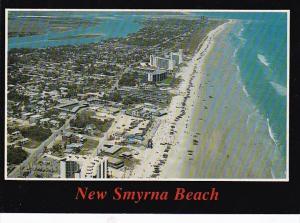 Florida New Smyrna Beach Aerial View Looking North