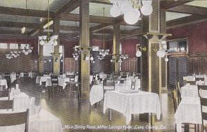 Main Dining Room , Witter Springs Hotel , Lake County , California , 00-10s