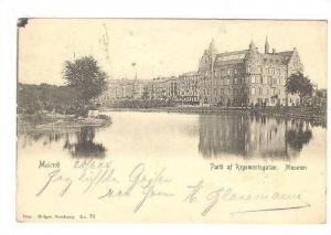 Malmo ,  SWEDEN , PU-1906 , Parti af Regementsgatan. Museum