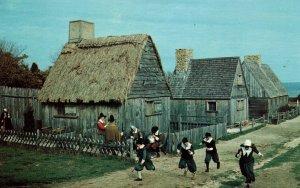 Pilgrim Village at Plimouth Plantation,Plymouth,MA