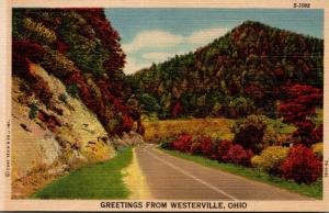 Ohio Greetings From Westerville Curteich