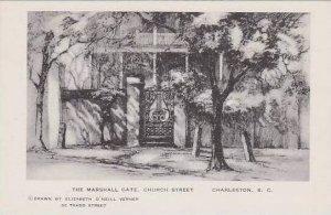 South Carolina Charleston The Marshall Gate Church Street