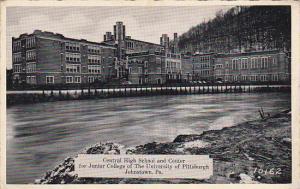 JOHNSTOWN, Pennsylvania, 1930-1940´s; Central High School and Center For Jun...