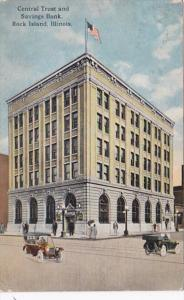 Illinois Rock Island Central Trust and Savings Bank 1916 Curteich