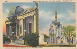PITTSBURGH , Pennsylvania , 1930-40s ; University Alleghany Observatory