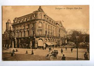 192014 GERMANY STUTTGART Hotel Konigin Olga Bau ADVERTISING