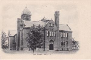 SAYRE , Pennsylvania, 1901-07 ; High School