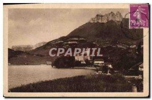 Postcard Old Annecy Le Chateau de Duingt