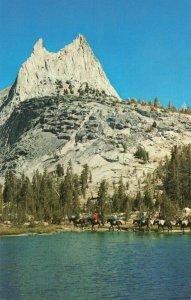Postcard Cathedral Peak Yosemite National Park California