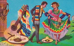 Mexico Jarabe Tapatio Regional Typical Dance Of Jalisco State
