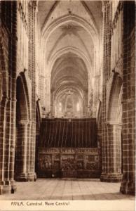 CPA Avila Catedral, Nave Central SPAIN (744125)