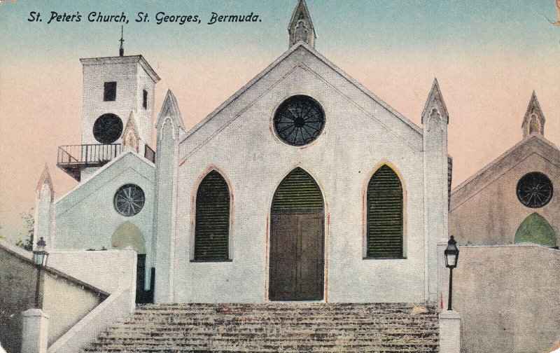 ST. GEORGES, Bermuda, 00-10s; St. Peter's Church