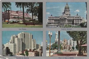BUENOS AIRES, Argentina, 40-60s; 4-views in city, ADV for Pentothal Sodium on...