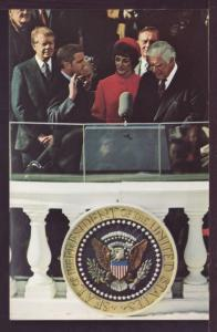 Walter Mondale Takes Oath of Office Post Card 3407