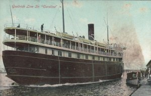 Goodrich Line Steamer CAROLINA, PU-1908