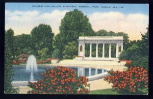 Mobile, Alabama/AL Postcard, Soldiers & Sailors Monument