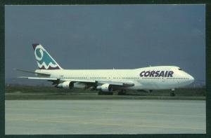 Corse Air International Airlines Corsair Boeing 747 Orly Airport Paris France