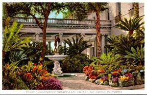 California San Marino The Henry E Huntington Library & Art Gallery The Art Ga...