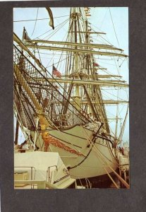 RI Operation Sail Narragansett Bay New Port Rhode Island Ship Danmark Postcard