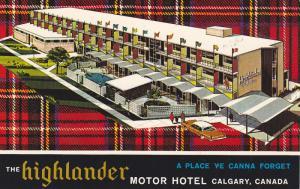 The Highlander Motor Hotel, Calgary, Alberta, Canada, 1940-1960s