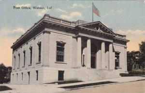 Exterior, Post Office, Walbash, Indiana,00-10s