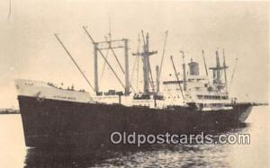 SS African Moon Farrell Steamship Lines Ship Postcard Post Card Farrell Steam...