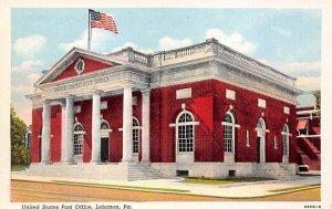 United States Post Office  Lebanon, Pennsylvania PA