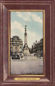 Belgium Brussells Monument Anspach 1909