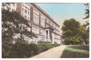 St Norbert College West De Pere Wisconsin handcolored postcard
