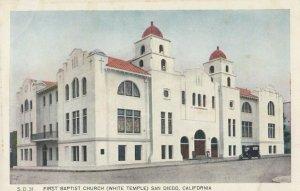 SAN DIEGO , California , 1900-10s ; First Baptist Church