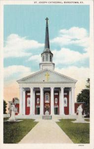 Kentucky Bardstown St Joseph Cathedral Curteich