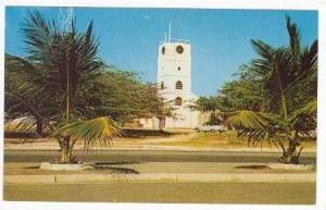 Willem III Tower, Old Prison,, Aruba, N. A., 40-60s