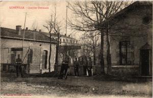 CPA MILITAIRE Lunéville-Quartier Dietmann (316851)