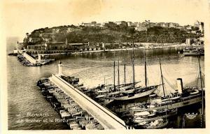 Monaco - The Port - RPPC