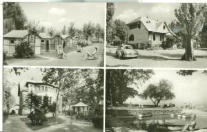 Hungary, Balatonboglár, used real photo Postcard