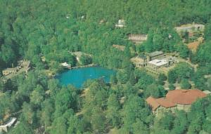 North Carolina Montreat Aerial View Of Conference Grounds