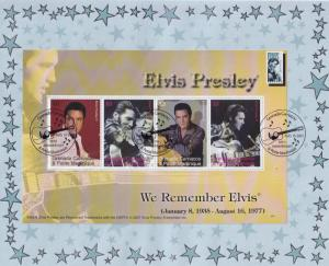Elvis Presley We Remember Grenada Carriacou Stamp First Day Cover