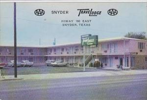 Texas Snyder Texas Trave Lodge