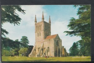 Worcestershire Postcard - View of Pershore Abbey    T7195