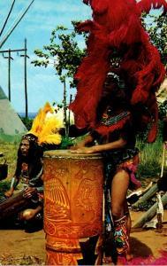 Oklahoma Aztec Indian Drummer