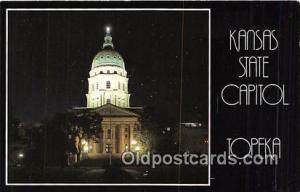 Kansas State Capitol Topeka, Kansas, USA Postcard Post Card Topeka, Kansas, U...