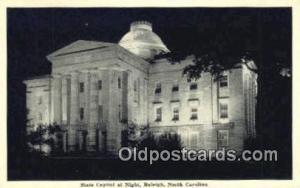 Raleigh, North Carolina, NC  State Capital, Capitals Postcard Post Card USA  ...