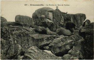 CPA Ermenonville- Les rochers du Bois de Perthes FRANCE (1020467)