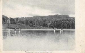 Bridgewater Vermont Meccawe Club House Birds Eye View Vintage Postcard JC932138