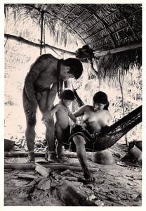Cornell Capa - Amahuaca Family, Peru